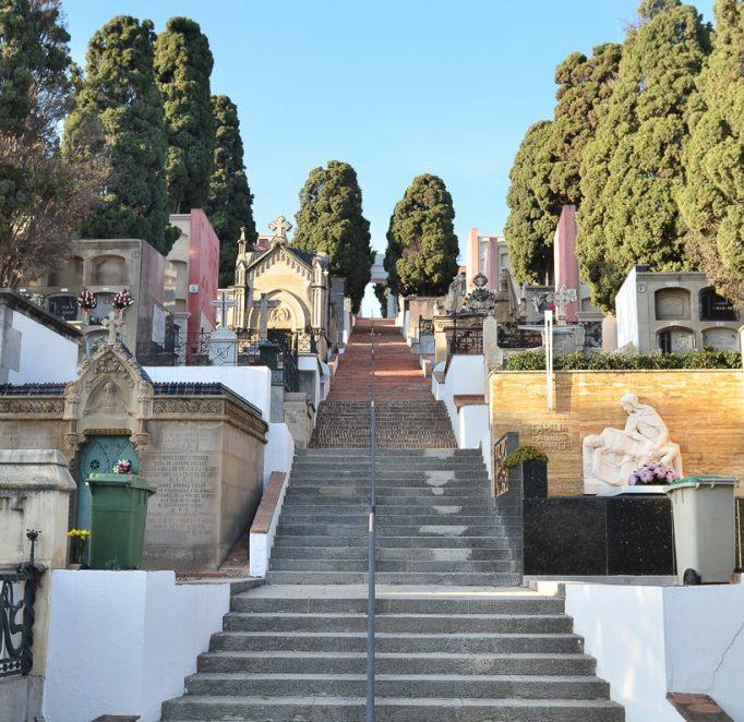 Cementiri dels Caputxins zona escalinata-14